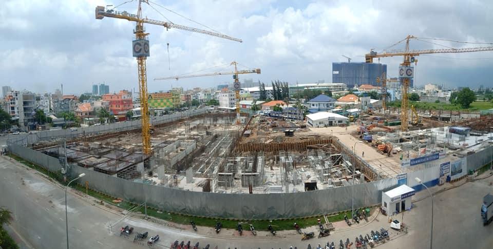 Tiến độ dự án Aio City – Bình Tân (tháng 7/2019)